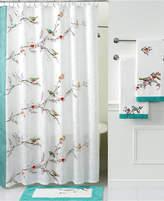 Lenox Simply Fine Bath Accessories, Chirp Shower Curtain Bedding