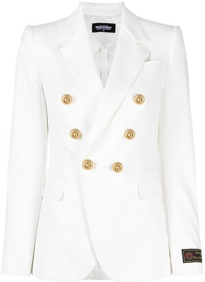 DSQUARED2 Button-Embellished Double-Breasted Blazer
