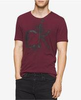 Calvin Klein Jeans Men's CK Pixel Puff Graphic-Print Logo T-Shirt