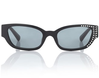 Magda Butrym Cat eye acetate sunglasses
