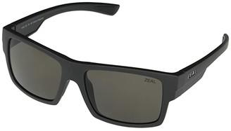 Zeal Optics Ridgway (Matte Black/Polarized Dark Grey Lens) Sport Sunglasses