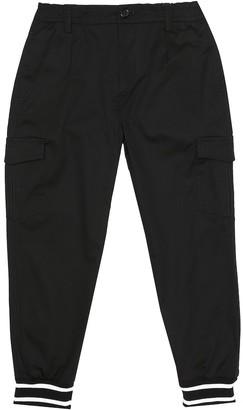 Dolce & Gabbana Kids Stretch-cotton pants