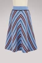 Miu Miu Shetland wool skirt