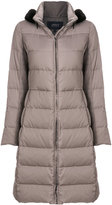 Armani Jeans long padded coat