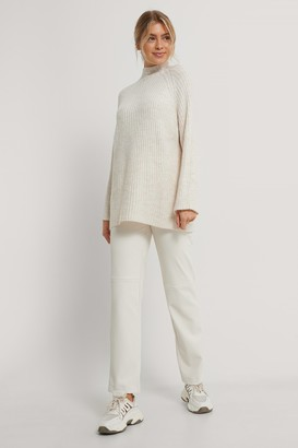 NA-KD Long Knitted Sweater