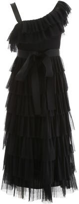 RED Valentino Ruffled Tulle Dress