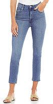 Levi's Mile High Stretch Denim Slim Cropped Jeans
