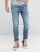 Levis 512 Slim Taper Fit Jean Jukebox Light Wash