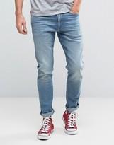 Levis 512 Slim Taper Fit Jeans Jukebox Light Wash
