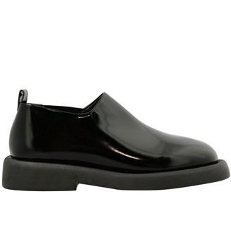 Marsèll Gommello Leather Slippers With Rubber Sole