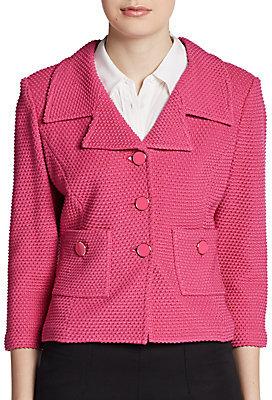 St. John Punto Riso Knit Jacket