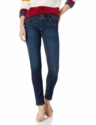 Hudson Women's Bailee Midrise Crop Baby Boot Flap Pocket Jean
