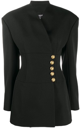 Balmain Cache-Cur Mini Dress