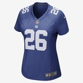 Nike Women's Game Football Jersey NFL New York Giants (Saquon Barkley)