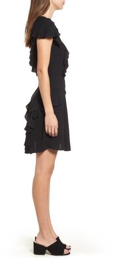 For Love & Lemons Women's Mockingbird Ruffle Minidress