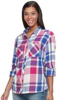 Columbia Women's Wildscape Flannel Plaid Roll-Tab Shirt
