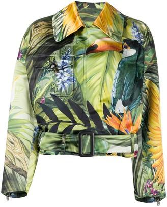 Dolce & Gabbana Duchesse biker jacket