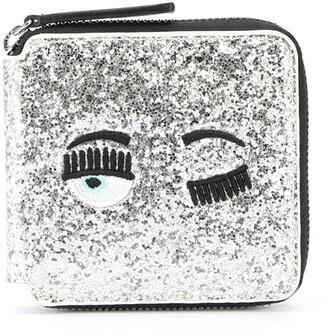 Chiara Ferragni Glitter Billfold Wallet