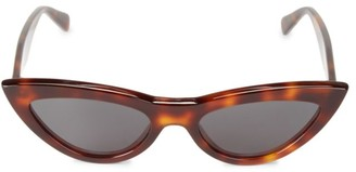 Celine 56MM Narrow Cat Eye Sunglasses