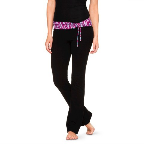 Mossimo Women's Cinched Tie Waist Yoga Pants Supply Co.TM