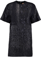 MSGM Metallic Tweed Mini Dress