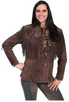 Scully Women's Boar Suede Fringe Jacket L9