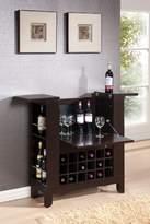 Acme 97010 Nelson Wine Bar, Wenge Finish