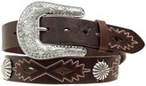 Nocona Southwest Conchos Belt - Leather (For Women)