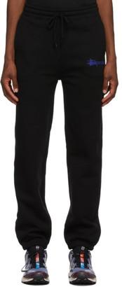 Stussy Black Sport Lounge Pants
