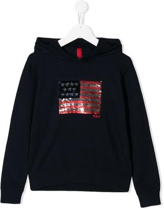 Ralph Lauren Kids Embroidered Sweatshirt