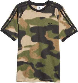 adidas Men's Camo 3-Stripes T-Shirt