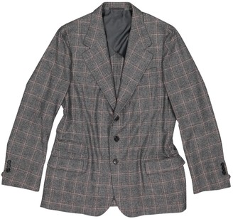 Saint Laurent Grey Wool Jackets