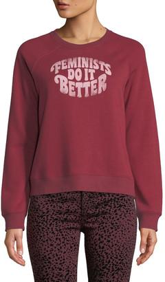 Rebecca Minkoff Jennings Feminists Do It Better Sweatshirt