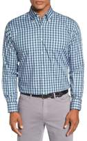Peter Millar Lucia Regular Fit Plaid Sport Shirt
