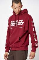 Young & Reckless Strike Thru Pullover Hoodie