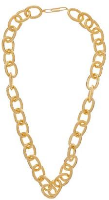 Aurelie Bidermann Manon Gold-plated Chain Necklace - Womens - Gold