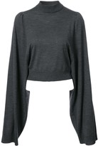 Vera Wang Classic Long-Sleeve Sweater
