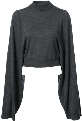 Vera Wang Classic Long-Sleeve Sweater