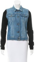 J Brand Contrast Denim Jacket