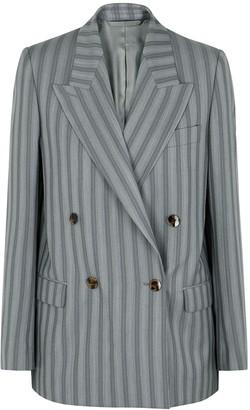Acne Studios Janny grey striped wool blazer
