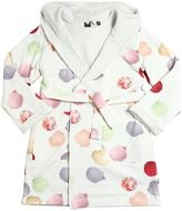 Molo Ice-Cream Cotton Jersey Bathrobe