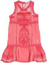 Miss Blumarine Embellished Tulle & Lace Dress