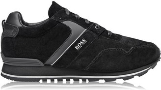 HUGO BOSS Parkour Suede Run Trainers