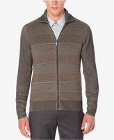 Perry Ellis Men's Textured Cardigan