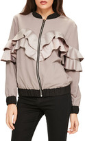 Missguided Ruffle Bomber