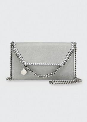 Stella McCartney Falabella Mini Shaggy Deer Wallet on Chain