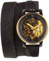 Fob Paris Rehab 360 Gold Wrap Around Watch
