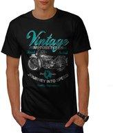 Vintage Motorcycles Biker Rider Men NEW XXXL T-shirt | Wellcoda