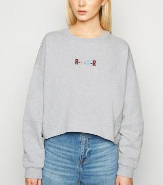 New Look Noisy May Rawr Slogan Sweatshirt