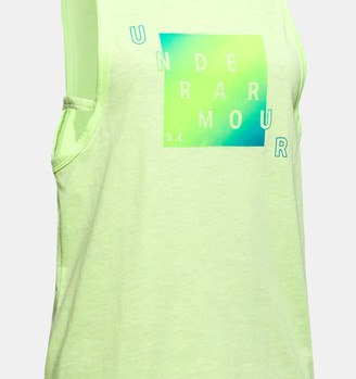 Under Armour Girls' UA Branded Tank